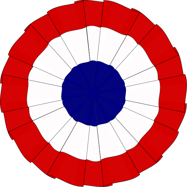 French Tri-Color Cockade