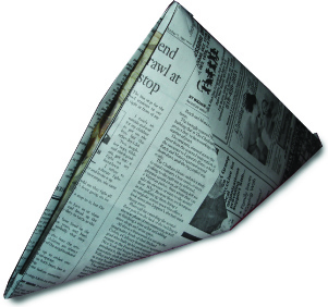 Newspaper Pirate Hat Image