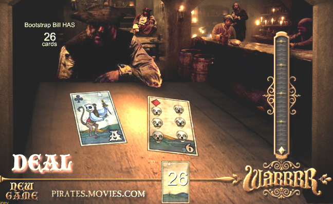 Pirate Card Game Warrrrr!