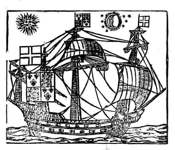 Ward's ship from Pepys Manuscript