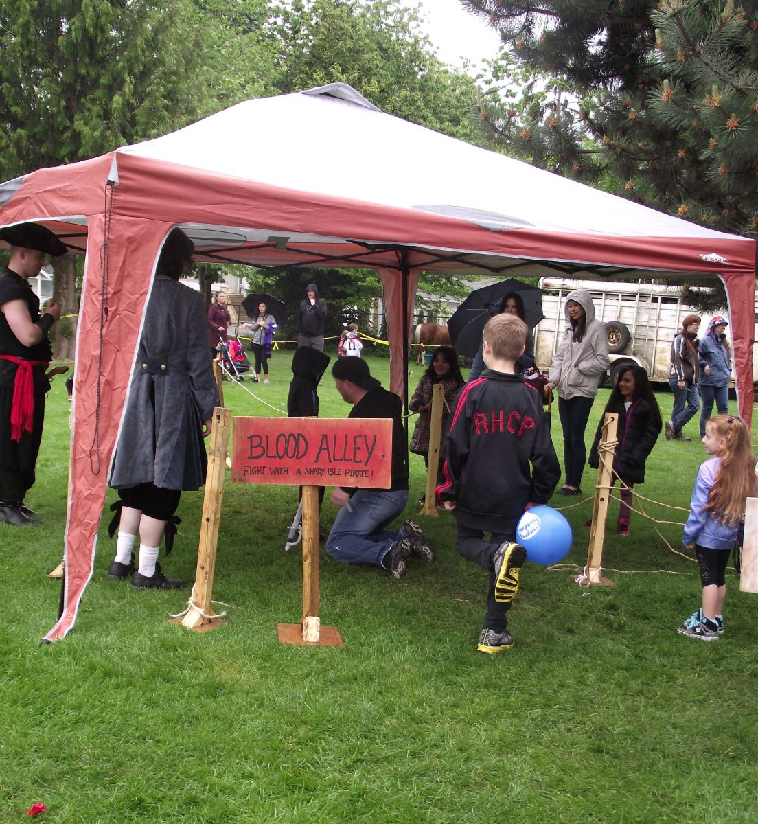 Shady Isle Pirates Blood Alley Ladner May Days 2014