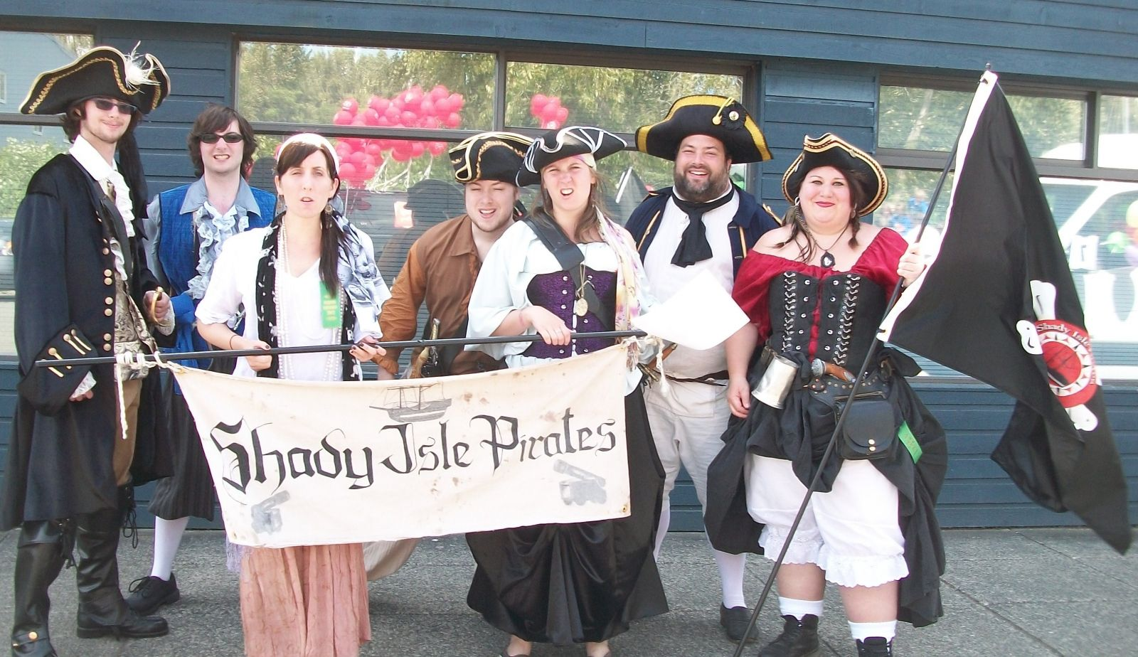 Shady Isle Pirates May Days Parade