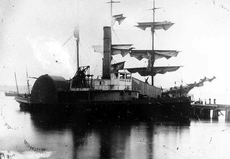Goliah Steam tug before 1899
