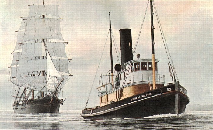 Richard Holyoke and clipper