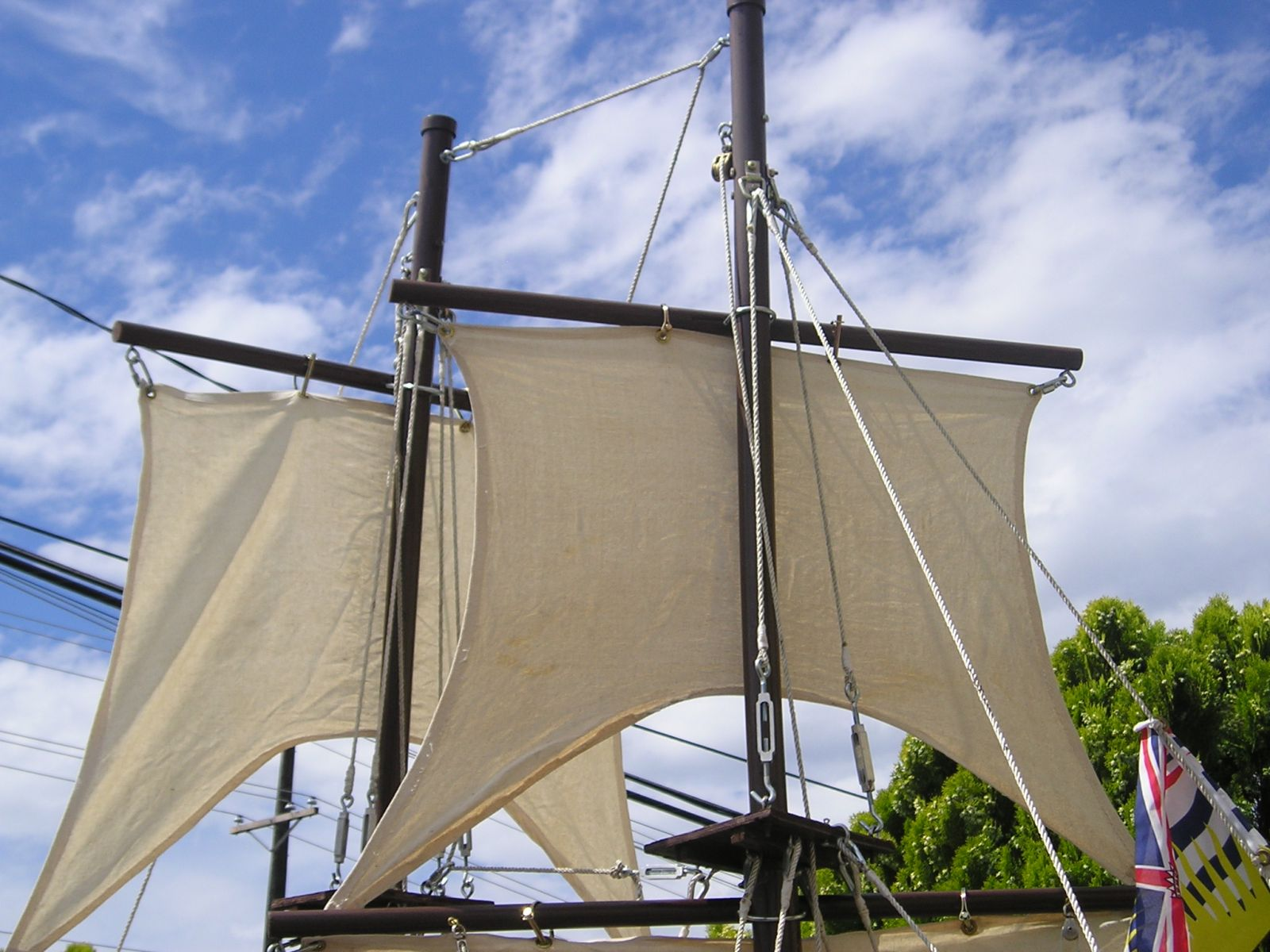 Mini Brig Square Sail
