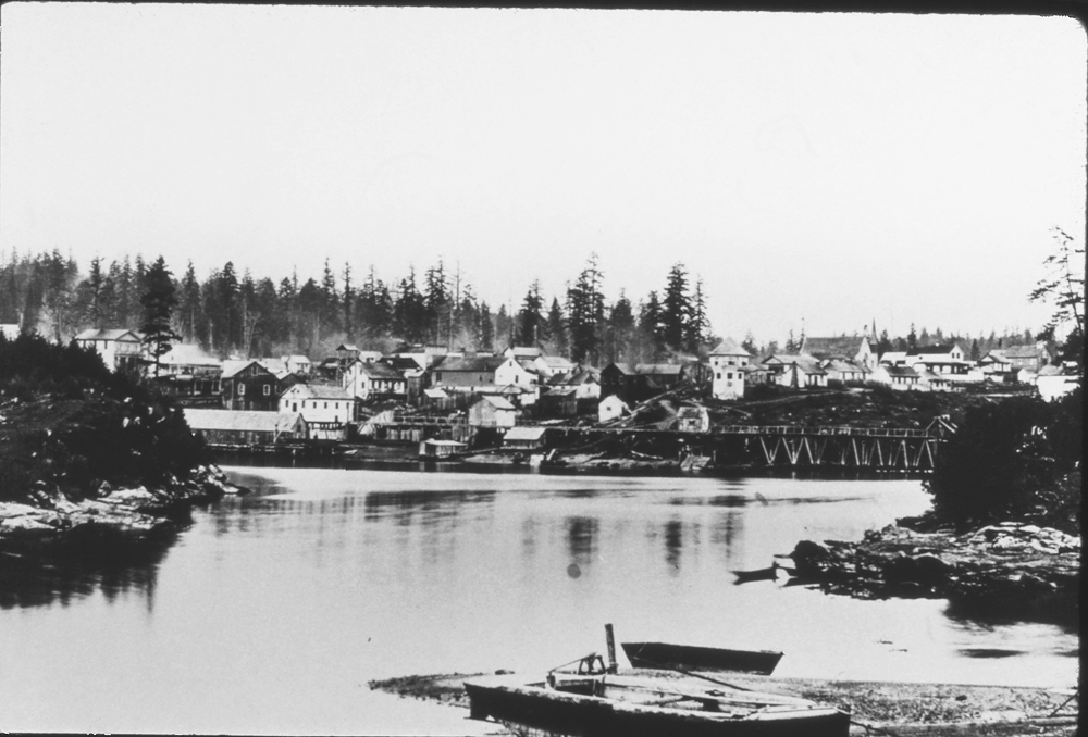 Nanaimo Harbor 1868